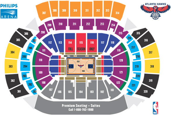 The Ultimate Philips Arena Ticket Guide Front Row Seats