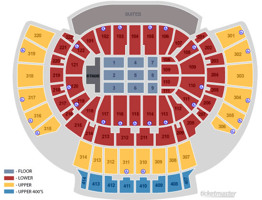 Seating Charts Philips Arena